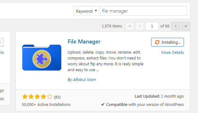 How to Add a File Manager in Your WordPress Dashboard