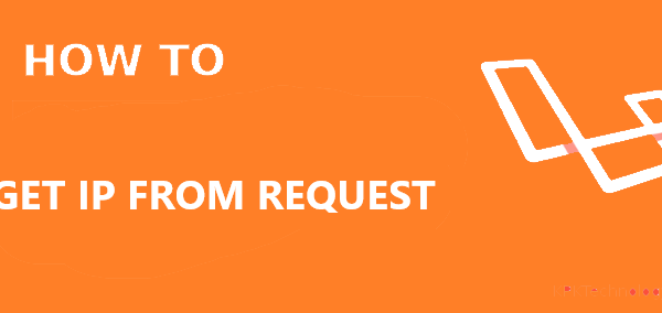 How to get an IP address from a request in Laravel