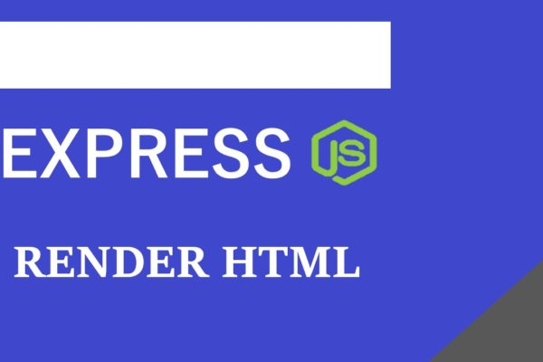 How To Render HTML file in Express JS