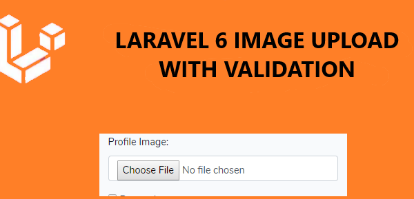 How to upload image in Laravel 6
