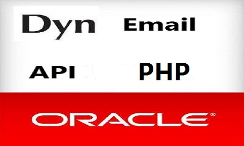 How to integrate dyn email api in php