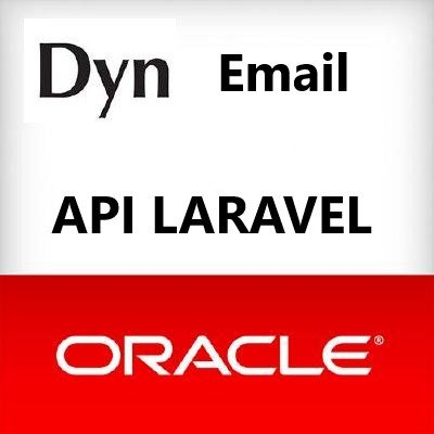 How to integrate dyn email api in laravel